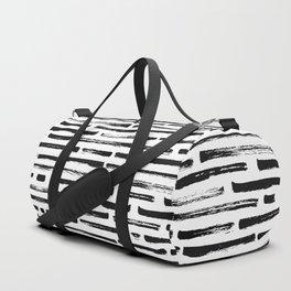 Brush lines Duffle Bag