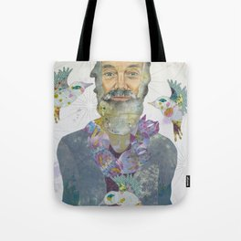 It's All Right Now...Ram Dass Tote Bag