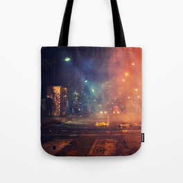 Nights of protest - Venezuela Tote Bag