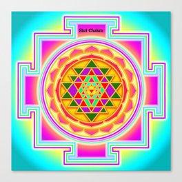Shri Chakra Canvas Print