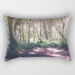 Forest Glare Rectangular Pillow