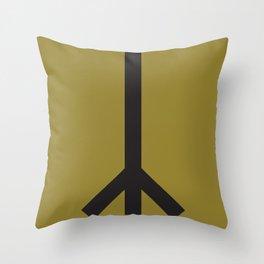Showtasting - Rune 9 Throw Pillow