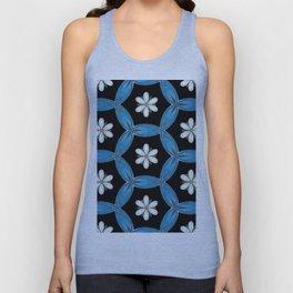 hippie flower pattern Unisex Tank Top