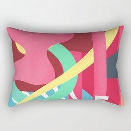 Summer fusion pattern Rectangular Pillow