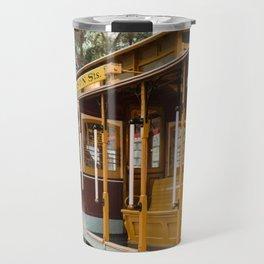 San Francisco Cable Car Travel Mug