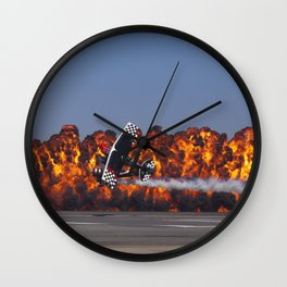Flight and Flame Wall Clock