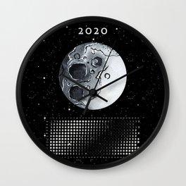 Moon calendar 2020 #6 Wall Clock