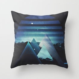 Fractions B06 Throw Pillow