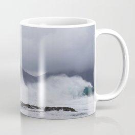 Waves in the Faroe Islands Coffee Mug