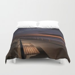 Best seat to watch our universe Duvet Cover