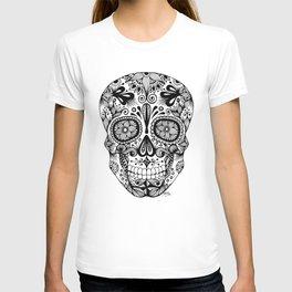 Zentangle - Sugar Skull  T-shirt