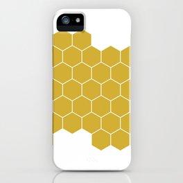Honeycomb White iPhone Case