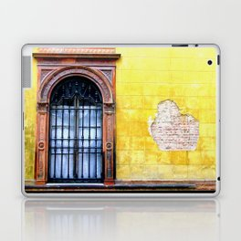 Yellow Window Laptop & iPad Skin