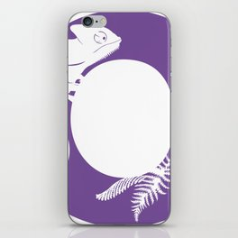 C is for Chameleon - Animal Alphabet Series iPhone Skin