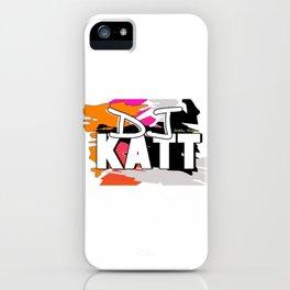 DJKATT iPhone Case