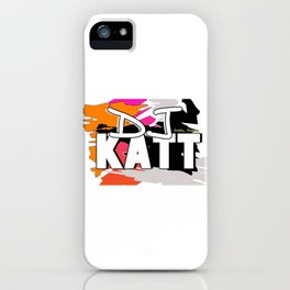DJKATT iPhone Case