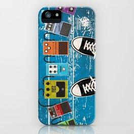 Guitar Music Effect Pedals iPhone Case