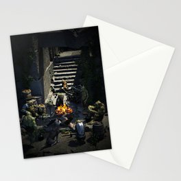 Goblin Camp Stationery Cards