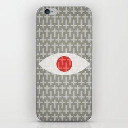 Cross-Eyed iPhone Skin