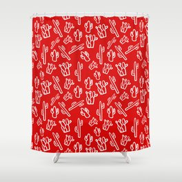 Mexican Fiesta Shower Curtain