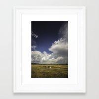 oklahoma Framed Art Prints featuring Oklahoma by Tanner Albert