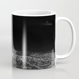 Chicago Skyline. Airplane. View From Plane. Chicago Nighttime. City Skyline. Jodilynpaintings Coffee Mug