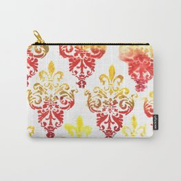 Damask: Autumn Leaves Carry-All Pouch