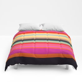 Sunset Stripes Comforters