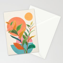 Colorful Branching Out 11 Stationery Cards