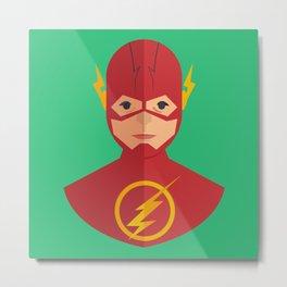 flat for flash Metal Print
