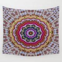 woodstock Wall Tapestries featuring Woodstock Pattern kinda by Pepita Selles