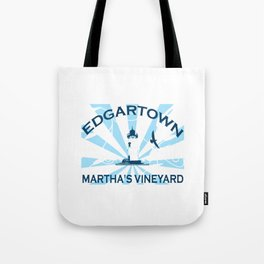 Edgartown - Martha's Vineyard. Tote Bag