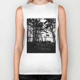 Acadia Trees Biker Tank