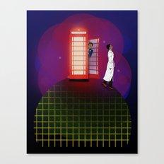 Community Inspector Spacetime  Canvas Print