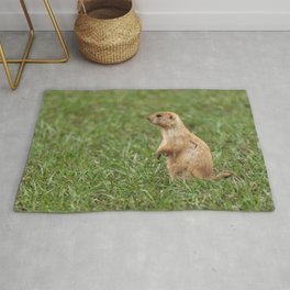 Prairie Dog on the Lookout Rug