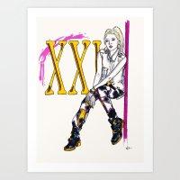 Dara Art Print