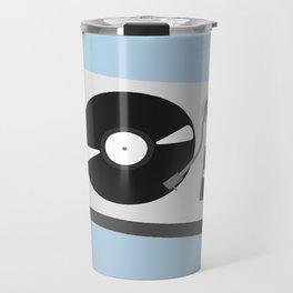 Turntable Illustration Travel Mug