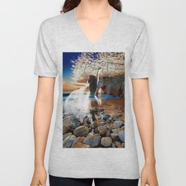 Stevie Nicks - Blue Water Unisex V-Neck