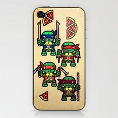 Teenage Mutant Ninja Turtles Pizza Party iPhone & iPod Skin