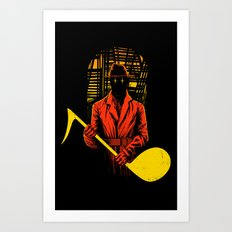 The Shadow Art Print