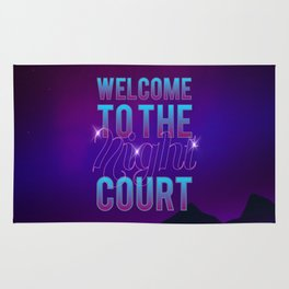Welcome to the Night Court Rug