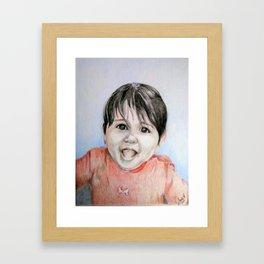 Grandbaby for Lisa Framed Art Print