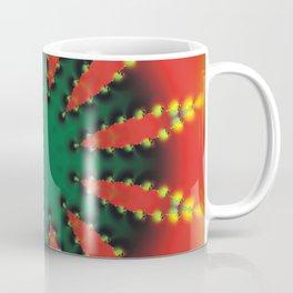CVF0058 Christmas Fantasy Flower Holiday Coffee Mug