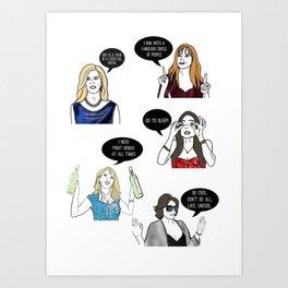 New York OGs Art Print