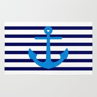 sail Area & Throw Rugs featuring Sail by M Studio