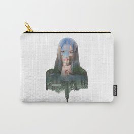 Silence In The City - One Carry-All Pouch