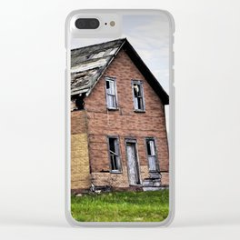 Old Homestead Clear iPhone Case