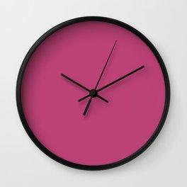 Lilac Rose Wall Clock