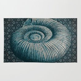 Ammonite on pattern 2201 Rug