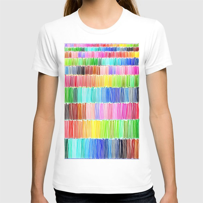 PRISMATIC RAINBOW T-shirt